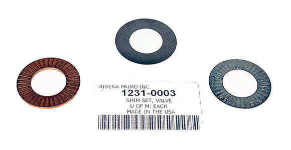VALVE SHIMS - Rivera Primo