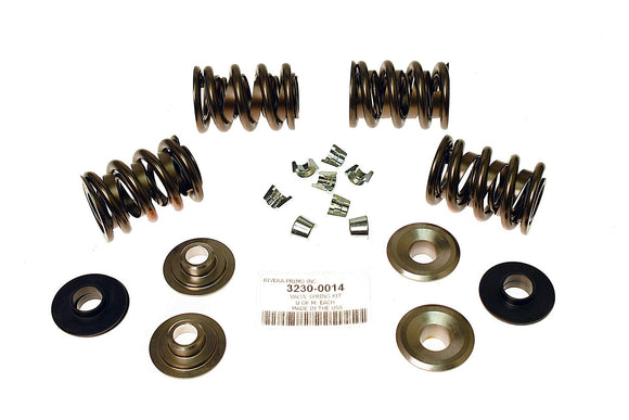 Valve Spring Kit - W/ Titanium Retainers 84 up BT UP TO .700 Lift. - Rivera Primo