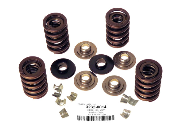 Valve Spring Kit with Titanium Retainers - Rivera Primo