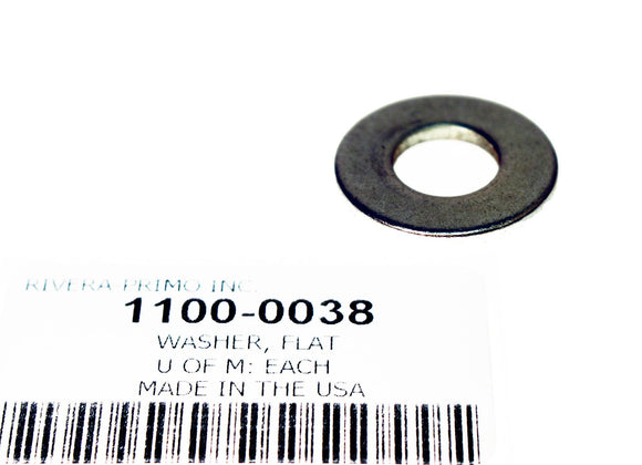 WASHER, FLAT USED ON SHIFTER SHAFT LEVER SPRING PIN. - Rivera Primo