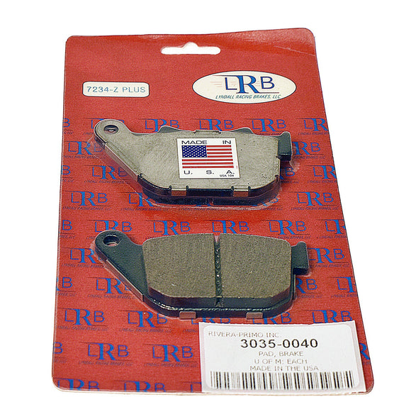 Z-PAD BRAKE ROTOR PAD. FITS XL MODELS 2004-PRESENT REAR. - Rivera Primo