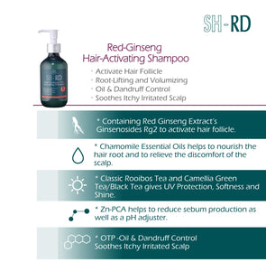 SH-RD Red-Ginseng Hair-Activating Shampoo (6.76oz/200ml)