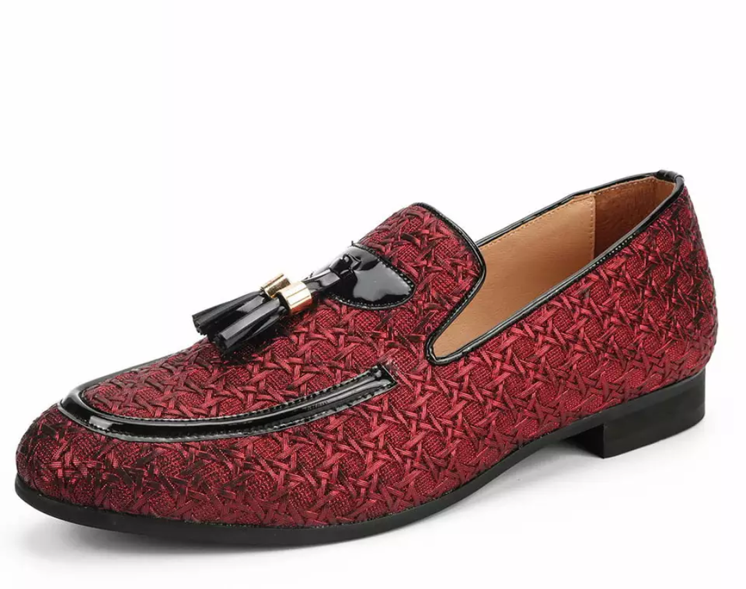 Braided Leather Italian Style Luxury Loafers - Swank & Swagger