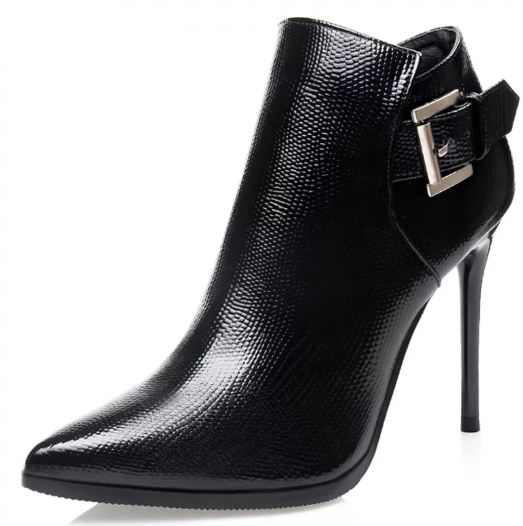 Women's Sexy High Heel Pointed Toe Boots - Swank & Swagger