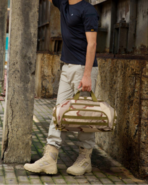 Military Style Travel Duffle Bag - Swank & Swagger