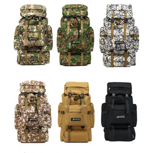 70L Large Capacity Outdoor Backpack - Swank & Swagger