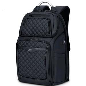 Diamond Lattice USB Travel Backpack - Swank & Swagger