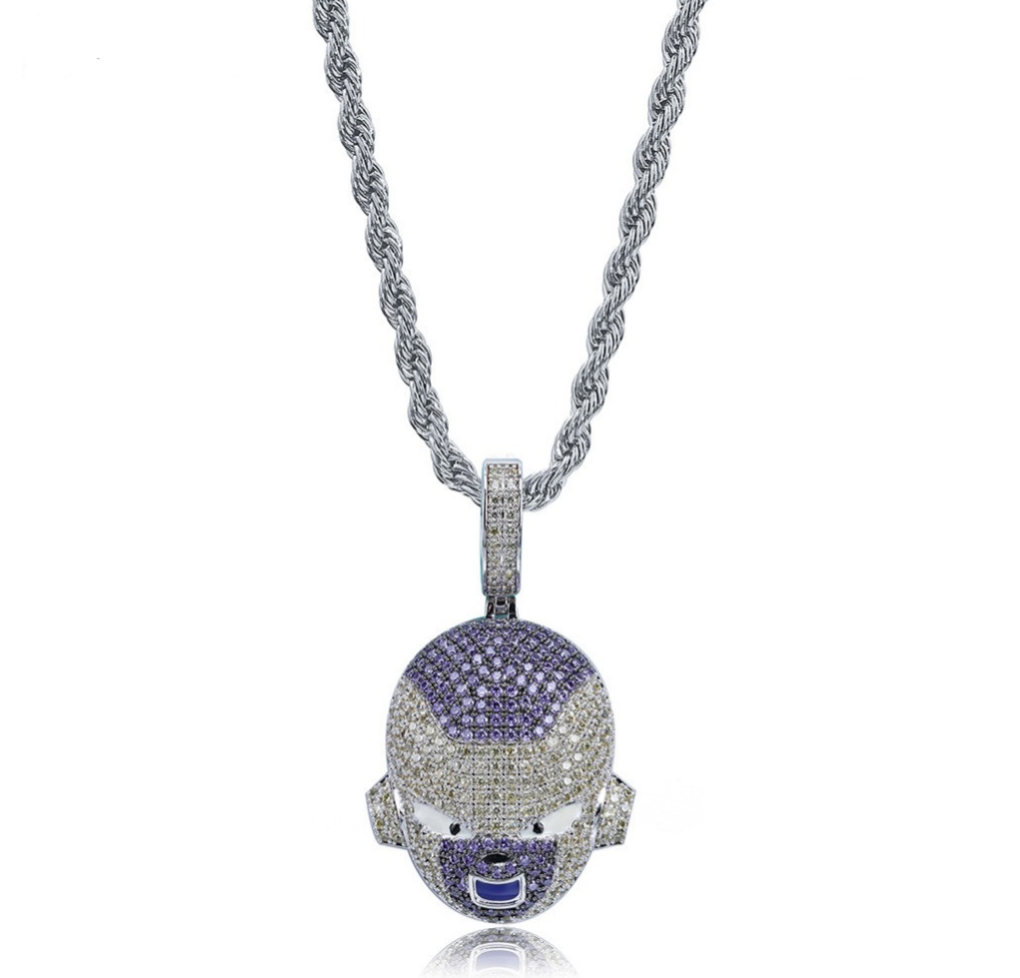 Ice Out Frieza Pendant Necklace - Swank & Swagger