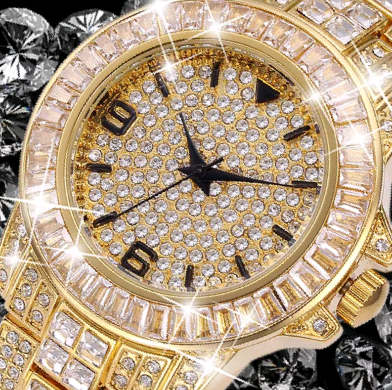 Luxury 18K IPG Japanese Quartz Wristwatch - Swank & Swagger