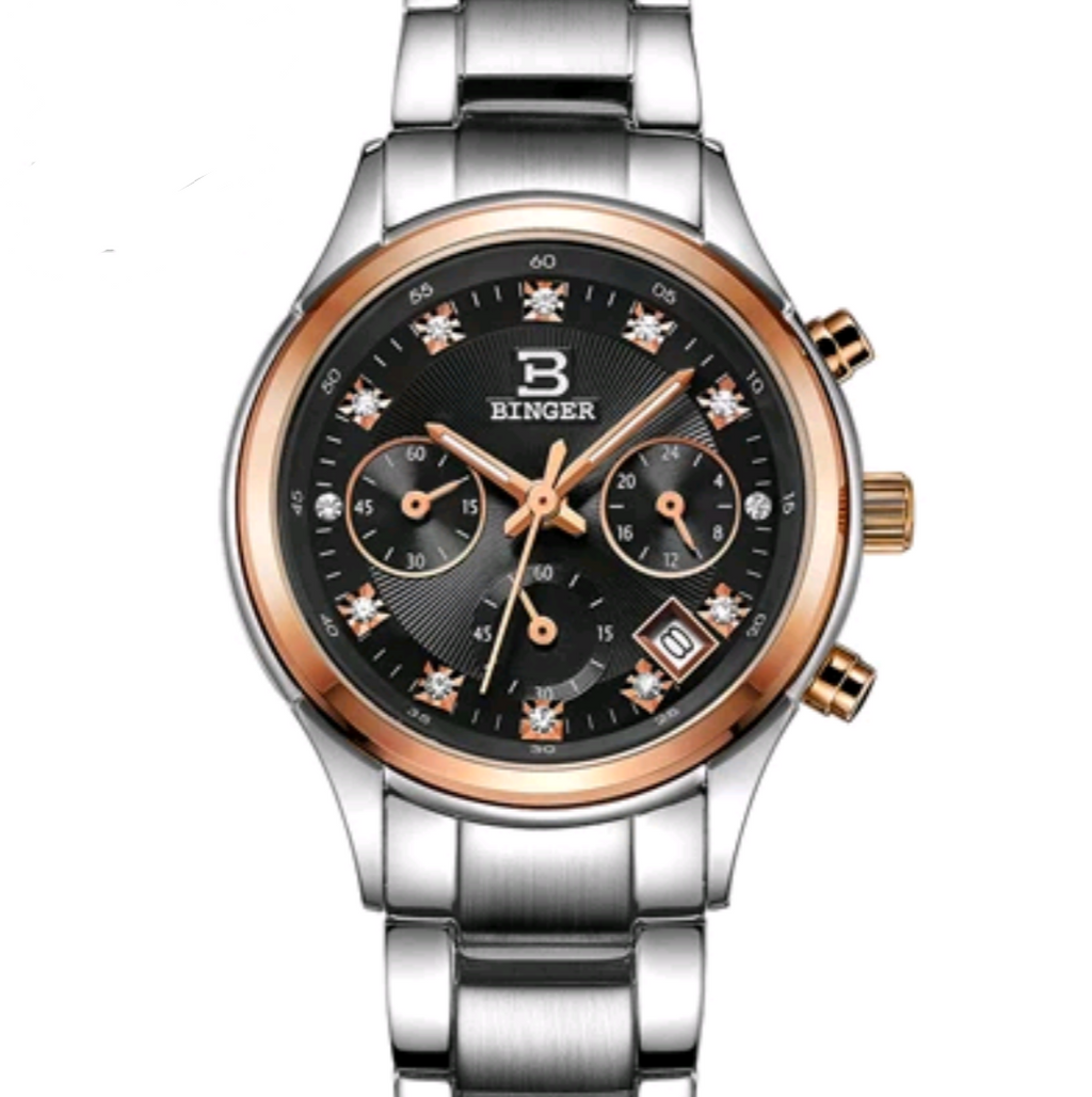 Business Luxury Chronograph Swiss Watch - Swank & Swagger