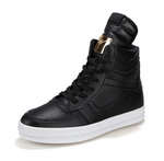 Casual Luxury High Top Sneakers - Swank & Swagger