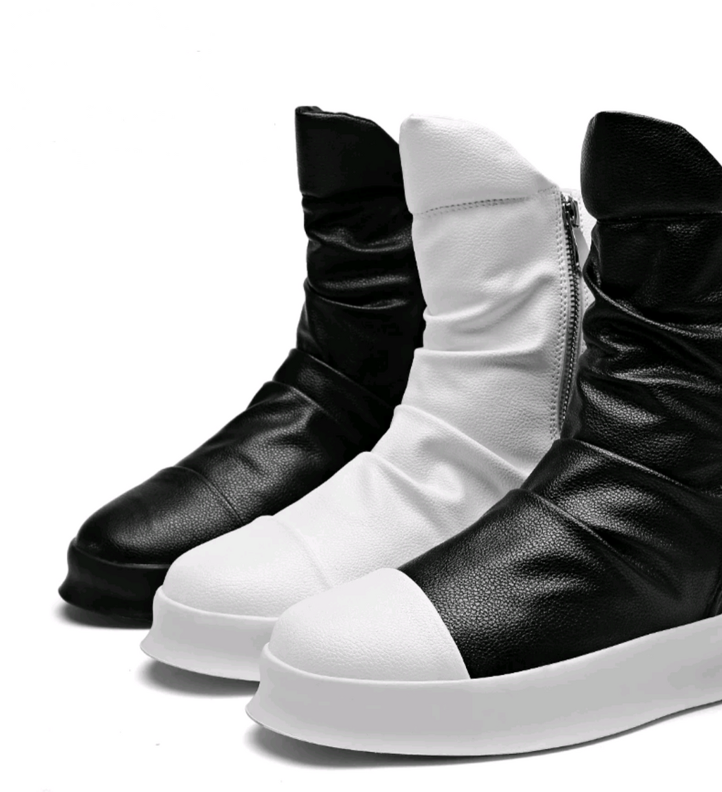 Hip Hop Motorcycle Boots - Swank & Swagger