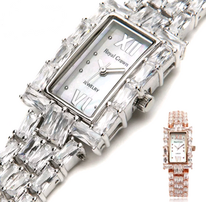 Magnificent CZ Diamond Watch - Swank & Swagger