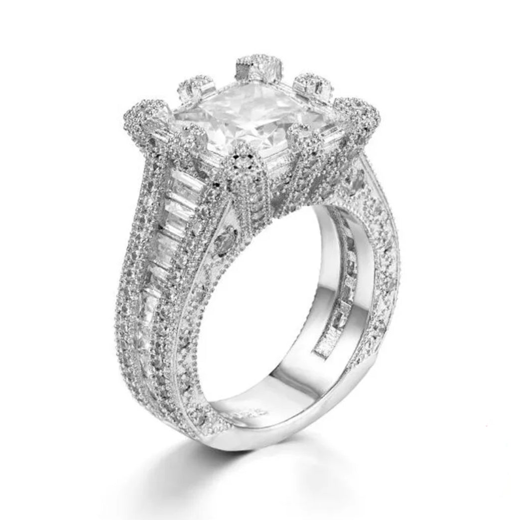 4ct Engagement Ring - Swank & Swagger