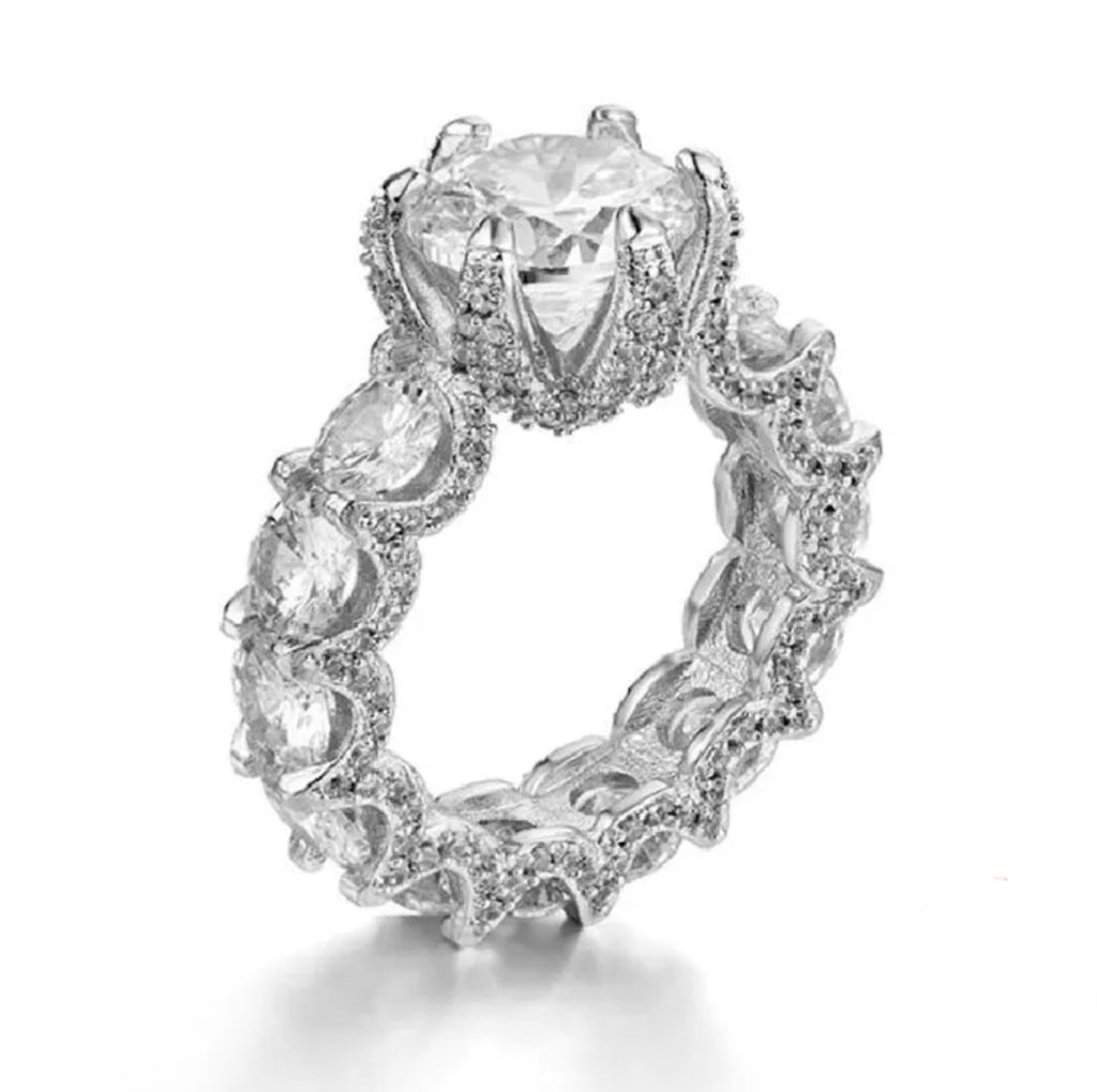 3ct Eternity Band Engagement Ring - Swank & Swagger