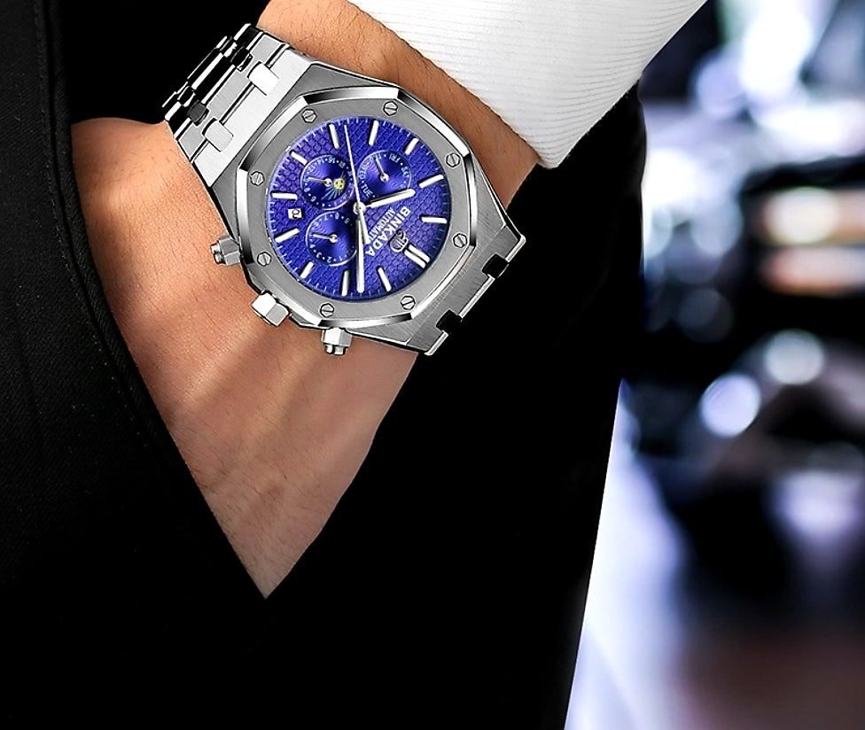 Luxury Stainless Steel Watch - Swank & Swagger