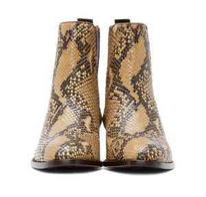 Top Quality Genuine Leather Animal Print Chelsea Boots - Swank & Swagger