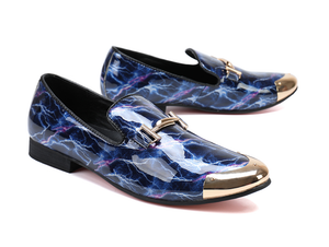 Men's Luxury Patent Leather Dress Shoes - Swank & Swagger