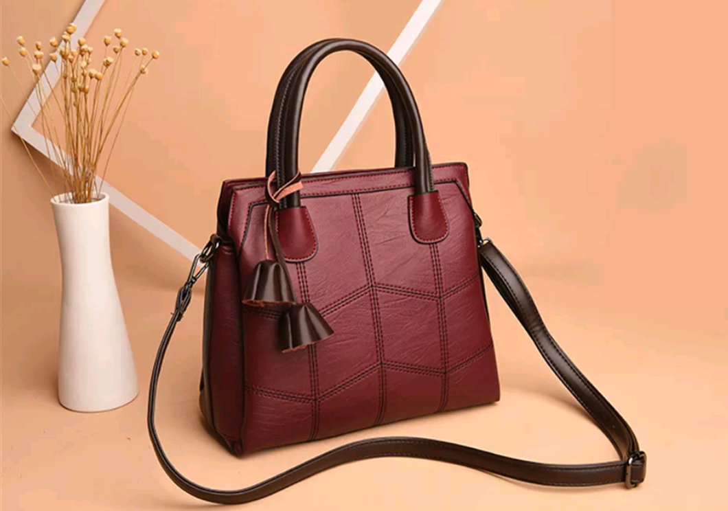 Genuine Leather Fashion Crossbody Handbag - Swank & Swagger