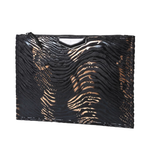 Designer Tiger Print Day Clutch - Swank & Swagger