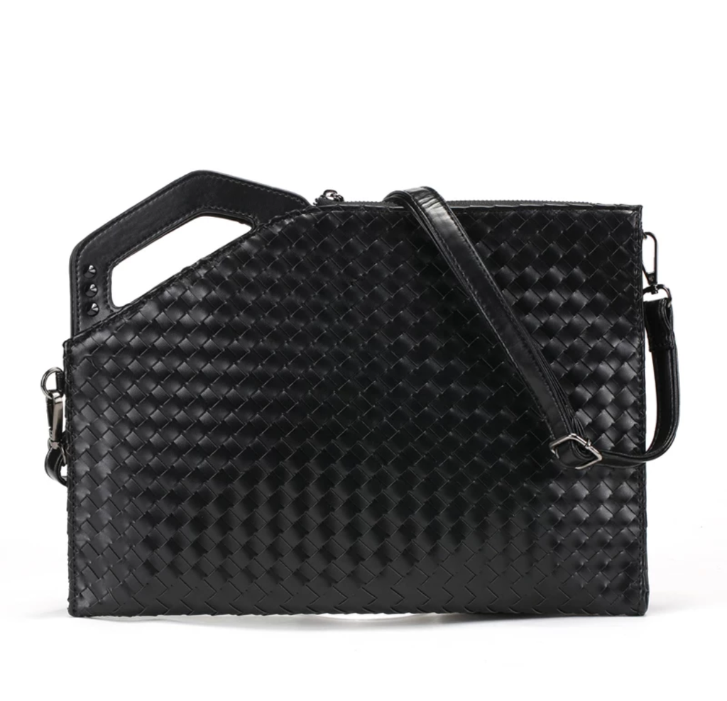 Designer Weave Day Clutch - Swank & Swagger