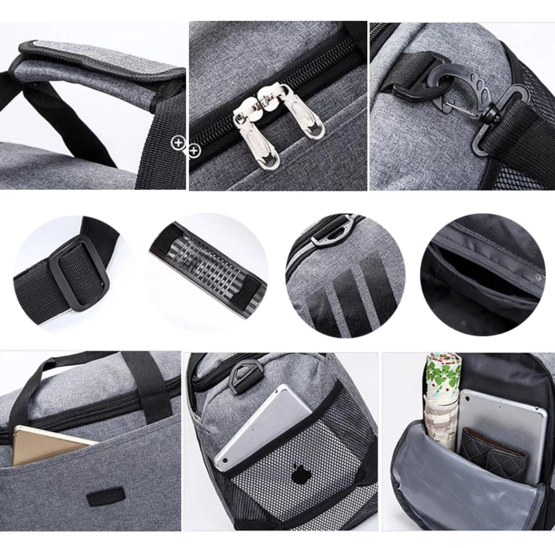 Nylon Travel Bag - Swank & Swagger