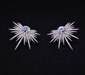 Spark CZ Stud Earrings - Swank & Swagger