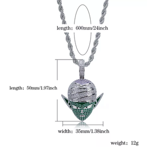 Ice Out Piccolo Pendant Necklace - Swank & Swagger