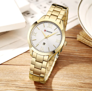 Classic Quartz Steel Watch - Swank & Swagger