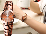 Women's Luxury Quartz Wristwatch - Swank & Swagger