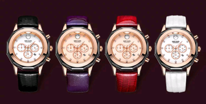 Luxury Chronograph Fashion Leather Watch - Swank & Swagger