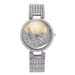 18k Gold Luxury Japanese Quartz Phoenix Wristwatch - Swank & Swagger