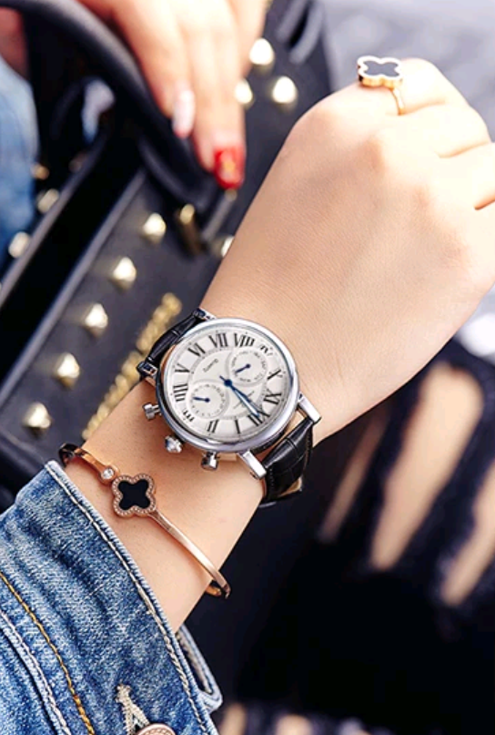 Vintage Leather Watch - Swank & Swagger
