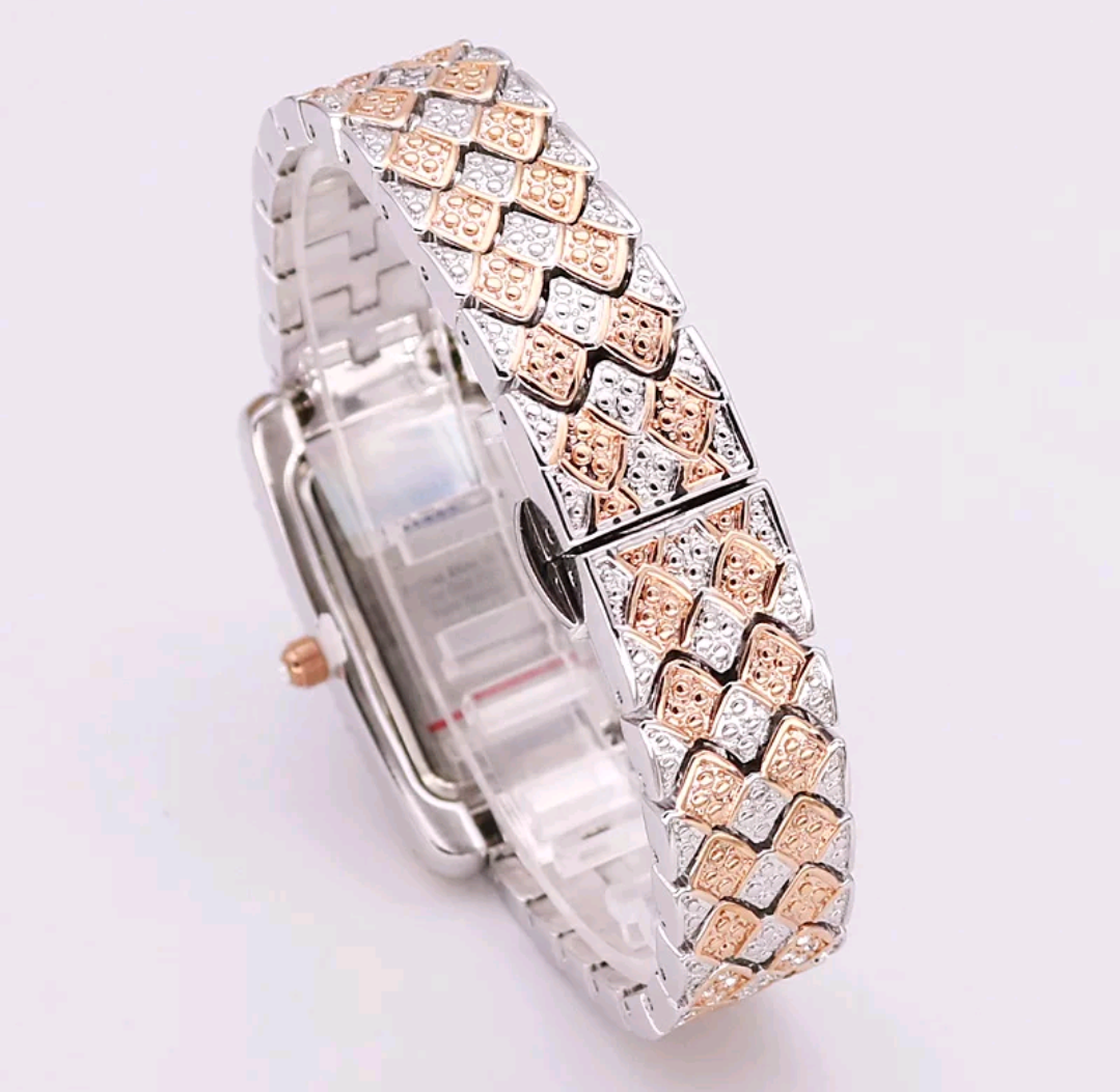 Sophisticated Luxury CZ Diamond Watch - Swank & Swagger