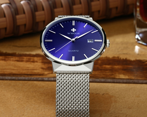 Luxury Fashion Steel Mesh Watch - Swank & Swagger