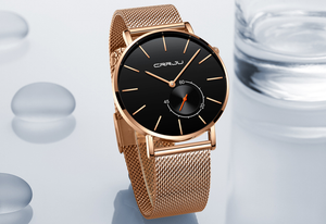 Luxury Steel Mesh Watch - Swank & Swagger