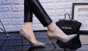 Luxury Diamond Sparkling Pumps - Swank & Swagger