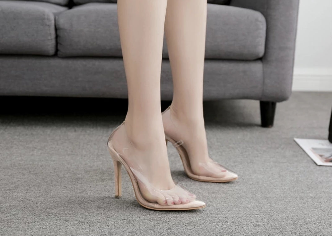 Cinderella High Heel Pumps - Swank & Swagger