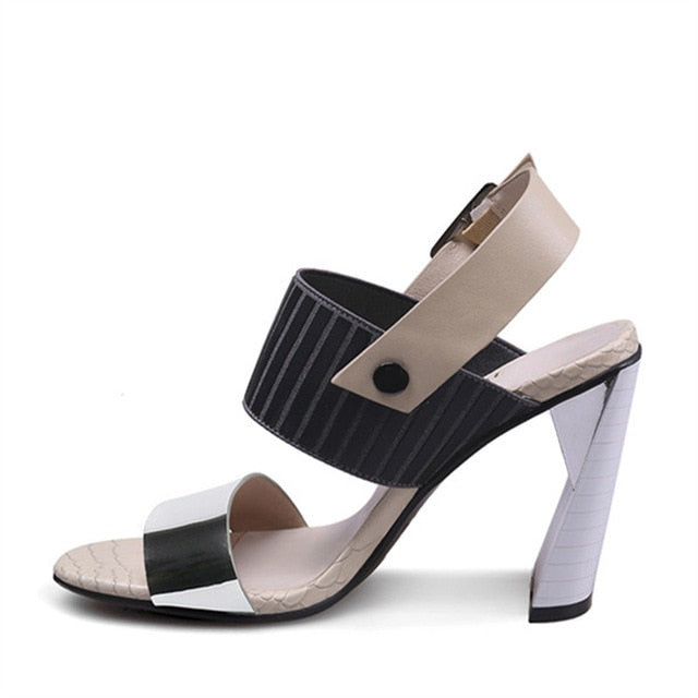 Women's Fashion Gladiator Designer High Heels - Swank & Swagger
