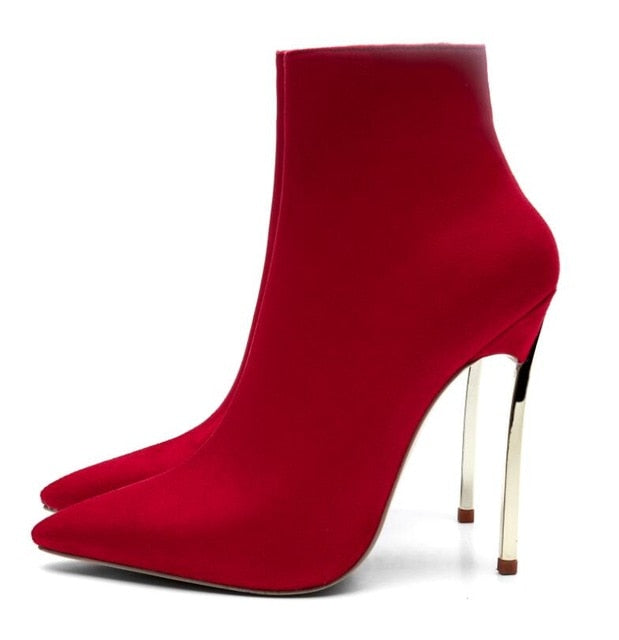 Sexy Stiletto Ankle Boots - Swank & Swagger