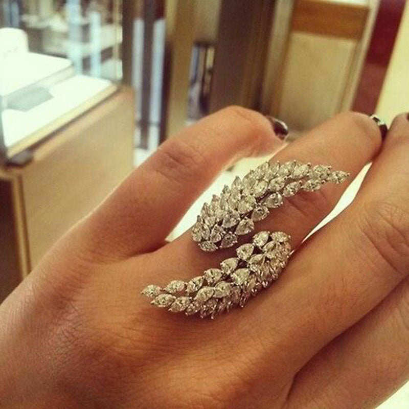 Angel Wings Ring - Swank & Swagger