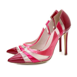 Transparent Fashion Pumps - Swank & Swagger