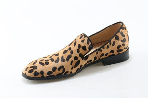 Men's Top Quality Fashion Leopard Print Loafers - Swank & Swagger