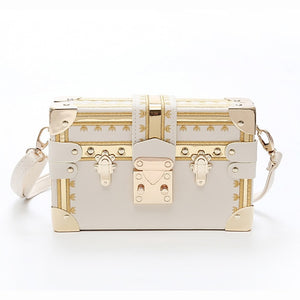 Designer Fashion Box Handbag - Swank & Swagger