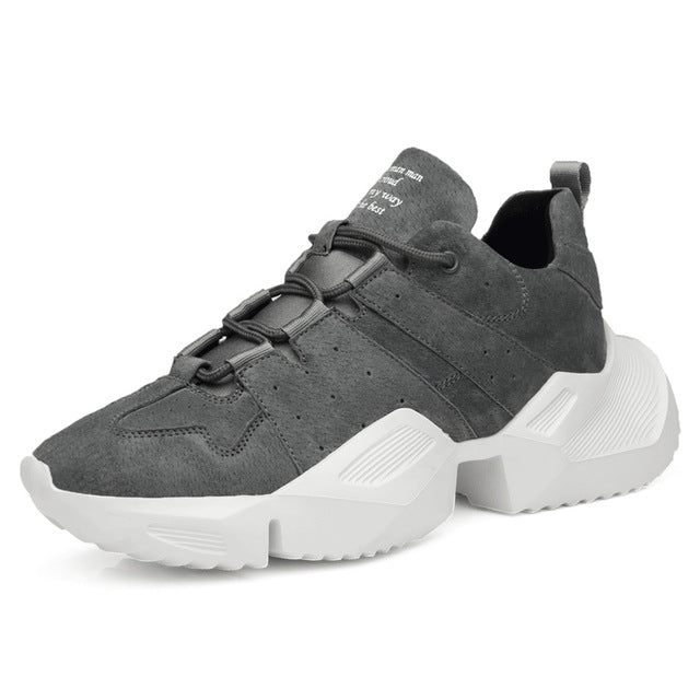 Designer Thick Sole Sneakers - Swank & Swagger