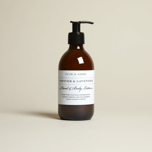Hand & Body Lotion ⎪ Vetiver & Lavender
