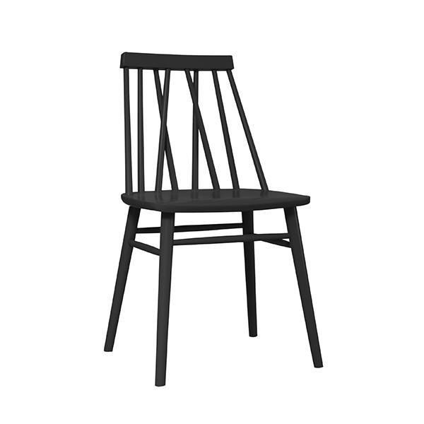 Stol ⎪ Non Dining Chair Beech Black