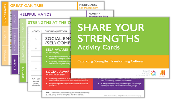 Share Your Strengths: Activity Cards (Ages 5-13)