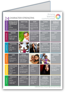 Character Strengths Folders (classroom set of 30)