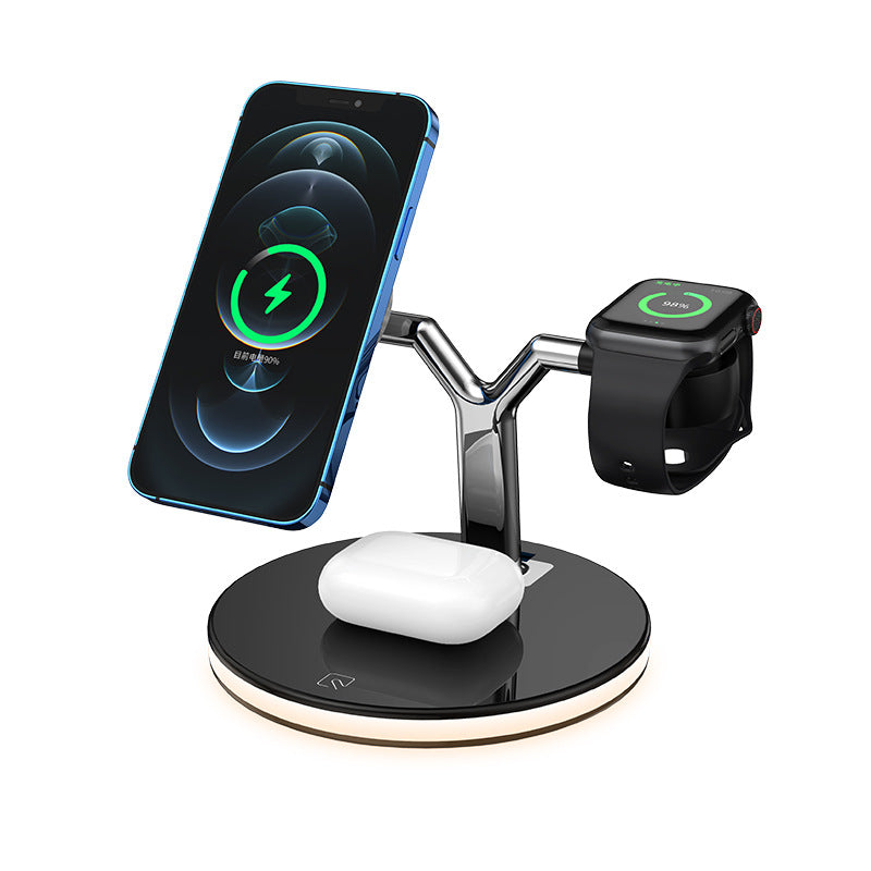 Wireless Magnetizing Mobile Phone Watch Charger (6178501132472)